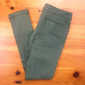 Mossimo Supply Co. Jeans - Mossimo Dark Green w/ Gold Studs Skinny Jeans